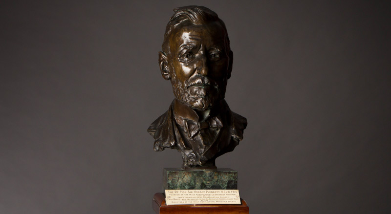 Sir Horace Plunkett helped establish the forerunner to today's Department of Agriculture Fisheries and Food in Ireland. The Department of Agriculture and Technical Instruction for Ireland (DATI) was formed in 1899.